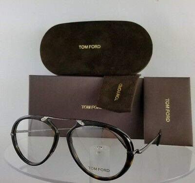 Brand New Authentic Tom Ford Eyeglasses FT TF 5346 036 52mm Silver Frame