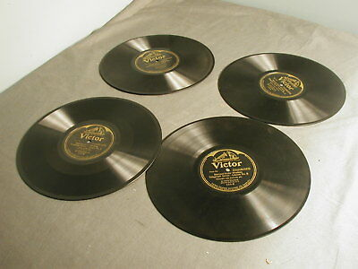 4 Rca Victor Records - 8 Lessons Marconi-Victor Wirless Telegraph Series 1903