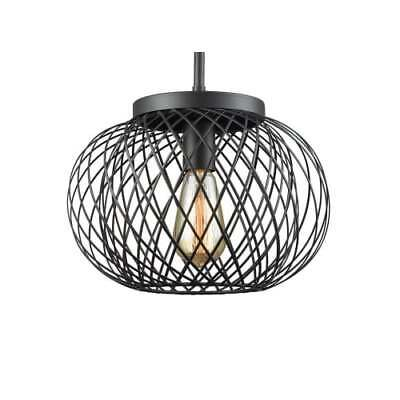 """ELK Lighting 14255/1 Yardley 1-Light 12"""" Wide Pendant with Wire Cage"""