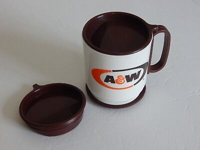 Vintage Coffee Cup for Car A & W Root Beer 1970's