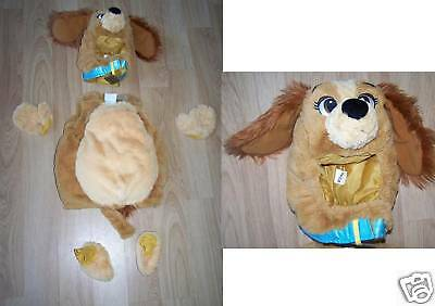 size 6 12 months disney store lady the tramp lady puppy dog halloween costume