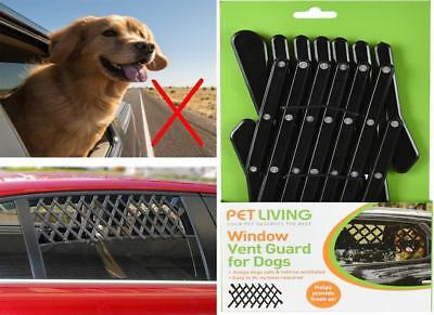 Pet Car Window Vent Safe Guard For Dog Puppy Vehicle Travel Protection Universal