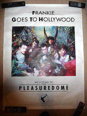 FRANKIE GOES TO HOLLYWOOD Welcome To The Pleasure Dome Poster 40.5 x 31