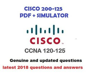 CCNA  200-125 dumps verified Exam questions and simulator