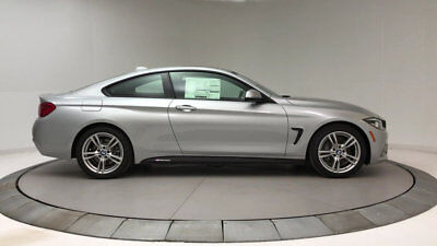 BMW 4 Series 430i 430i 4 Series New 2 dr Coupe Automatic Gasoline 2.0L 4 Cyl Glacier Silver Metall