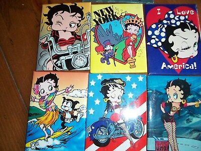 Betty Boop Metal Magnets
