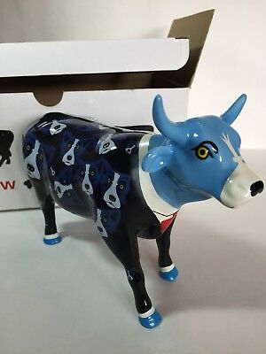 Cow Parade 9155 Black Tie Dogs George Rodrigue VERY RARE RETIRED