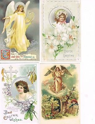 Lot of 28 ANTIQUE EARLY 1900s HOLIDAY Postcards       * EASTER *