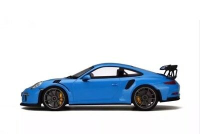 LAST ONE! New 1/18 GT Spirit Porsche 911(991) GT3 RS Riviera Blue 2000pcs