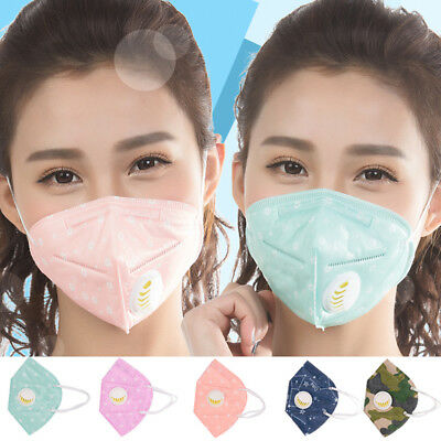 Face Hiking Anti-Dust Mask Comfortable Filter Cloth Color Random Anti-Pollution