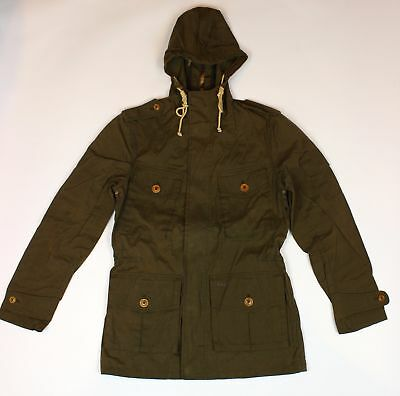 BRAND NEW - Barbour Cowen Commando Ranger Casual Hooded Jacket-S-MSRP $379