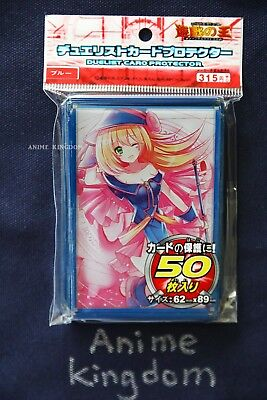 Anime Sleeves 50 x Holographic Sleeve card Protector Sexy Dark Magician Girl #2