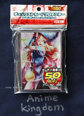 Anime Sleeves 50 x Holographic Sleeve card Protector Sexy Dark Magician Girl #3