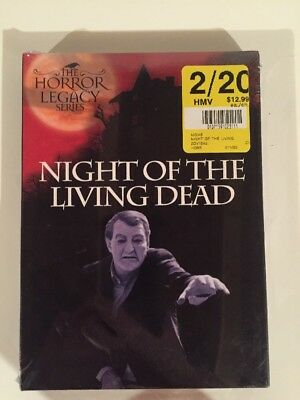 Night of the Living Dead (DVD, 2007) Horror Legacy Anchor Bay Release NEW!