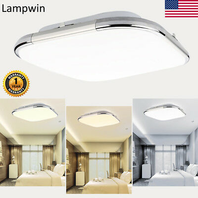 12/18/24W Dimmable LED Surface Flush Mounted Ceiling Down Light Lamp Ultra-thin