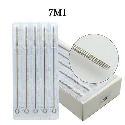 Premium Tattoo Needle Round Magnum Arc Needle 7M1 Shading Colors Stainless Steel