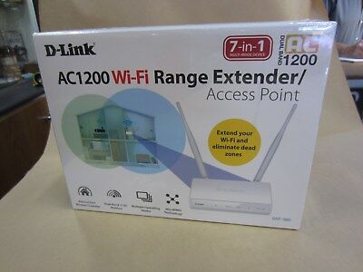 D-Link Dap-1665 Wireless Ac1200 Dual Band Access Point ~ Brand New In Sealed Box