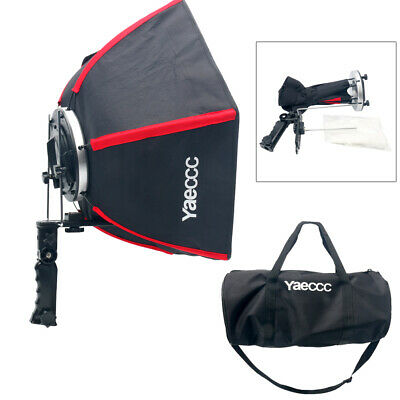 """20""""/50cm Collapsible Hexagonal Softbox with Hand Grip for Speedlights Red US"""