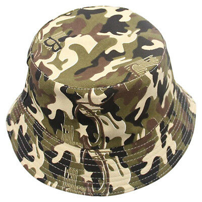 10X(Camouflage Cute Sweet Child Boys Girls Toddler Summer Bucket Sun Hat Fi V4M3