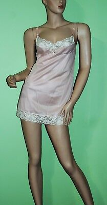 Vintage Full Slip SALE EVERY STYLE EVERY SIZE Pink Mini Full Slip Small