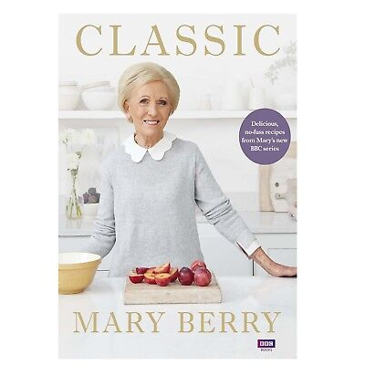 Classic: Delicious No Fuss Recipes by Mary Berry Hardback 2018 Damaged Cover