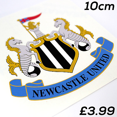 Newcastle united decal sticker printed best quality uv ecosol solvent ink