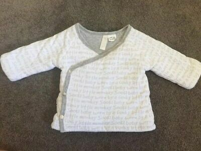 Sooki Baby Jumper Cardigan Coat - Boy Or Girl Size Small 00 (3-6months)