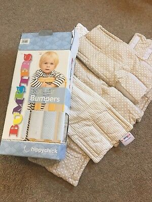 Hippychick Cot Bar Bumpers Unisex Set Of 12