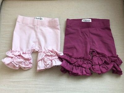 Sweet Honey Baby Girl Shorts Lot Of 2 Size 12 Months