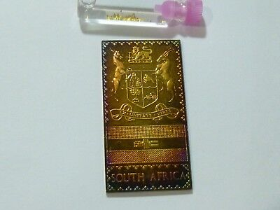 Silver Bar .999 pure South Africa Art and Natural gold nuggets