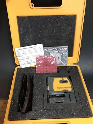 RoboVector Laser Level - 5 Way Laser Device w/ Case, Glasses & Manual