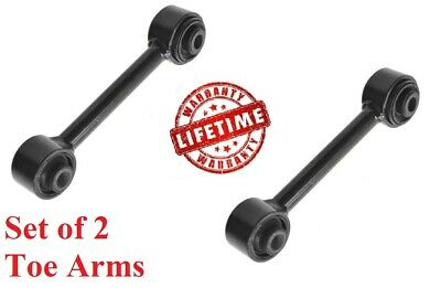 Rear Lower Lateral Toe Arm Pair Set of 2 for Dodge Caliber Jeep Compass Patriot