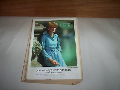 "Sears Canada Spring Summer 1983 Store Catalog ( Store Catalogue) 8"" by 11"""