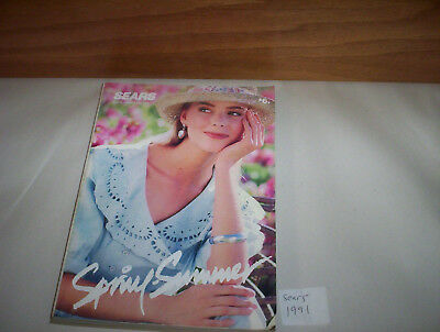 "Sears Canada Spring Summer 1991 Store Catalog ( Store Catalogue) 8"" by 11"""