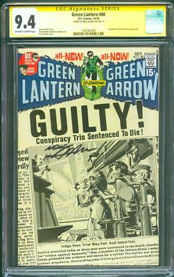 Green Lantern 80 CGC SS 9.4 Neal Adams Guardians of Universe on Trial Cover 1970