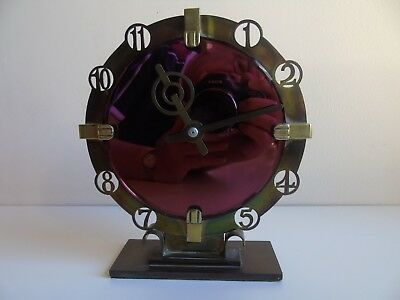 A Rare and Stunning Smith's Deco 8 Day Mantle Clock