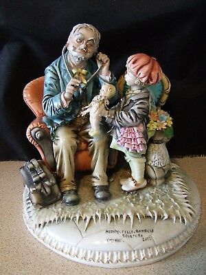 "Tiziano Galli Large Figurine  ""The Dolly Doctor""  -   Excellent condition"