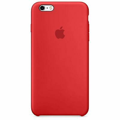 APPLE CUSTODIA COVER PER IPHONE 6 e 6S PLUS SILICONE CASE ORIGINALE RED ROSSO