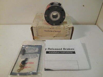 New Warner Electric 5158-170-015 Model ERS-26 Holding Brake