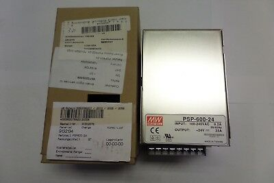 Mean Well Power Supply PSP-600-24 100-240VAC 8.2A A Amp New