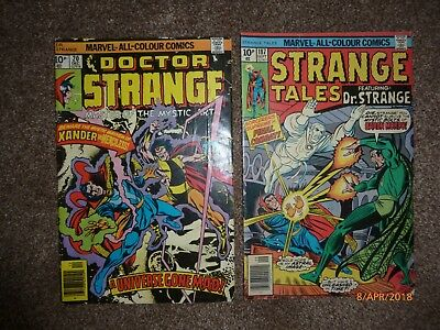 Strange Tales featuring Dr. Strange - Vol 1 - No's 20 and 187 - Stan Lee