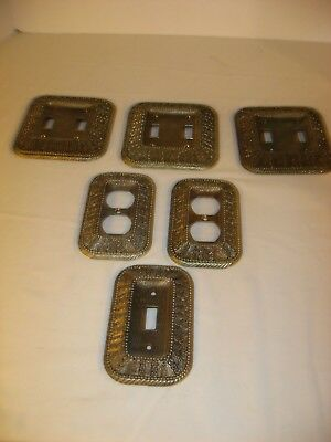 Lot 8 Vintage 60's American Tack And Hadwe.Co.Light & Outlet Switch Plate Covers
