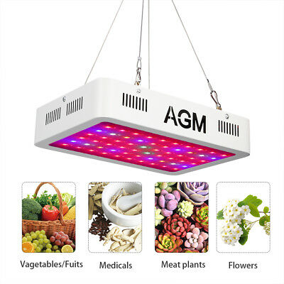 300W 60 LED Grow Light Panel 60 Bulb Full Spectrum Lamp Indoor Plant Flower Grow