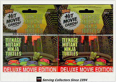 1990 Topps Teenage Mutant Ninja Turtles Movie Trading Card Full Set(132)-HOT