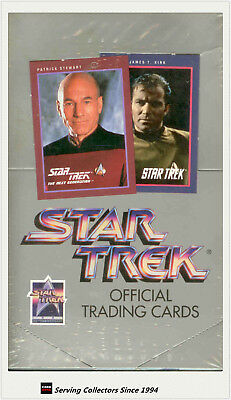 1991 Star Trek 25th Anniversary Trading cards Series 1 Factory Box (36 pks) x 4