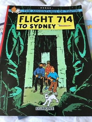 Flight 714 to Sydney by Herge (Paperback, 2002) The Adventures Of Tintin