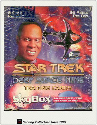 Star Trek 1994 Deep Space Nine Trading Card Box (36 packs) (Skybox)