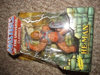 Masters Of The Universe Classics He-Man Collectable Matel 2009 (NEW)
