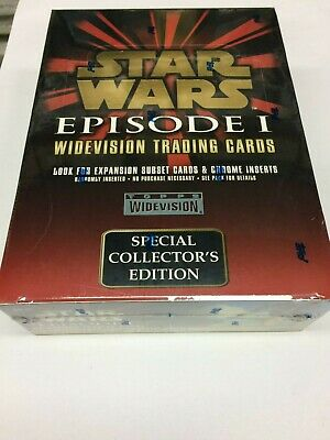 Star Wars Episode I Movie Widevision Trading Card Factory Box (36) x3- quality