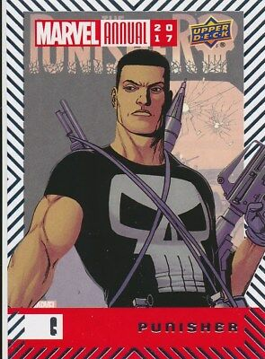 #6 PUNISHER (2018) 2017 Upper Deck Marvel Annual